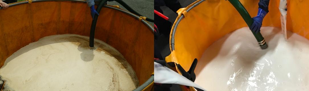 発泡試験廃液 淡白 水成膜