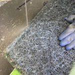塗装ブース清掃 フィルター清掃 塗膜除去